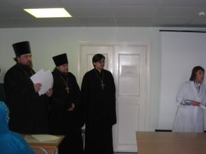 Открытие отдела духовной литературы.24.02.09 г 001