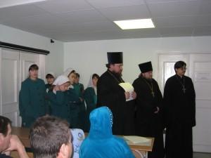 Открытие отдела духовной литературы.24.02.09 г 002